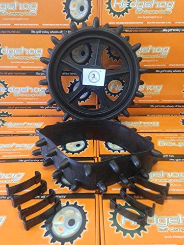 Igel-Radschutzbezüge für Golf-Trolley im Winter, passend für 22,9 – 25,4cm-Reifen