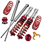 Lowering Coilovers Kits for VW Golf MK4, Jetta MK4,for Audi A3 MK1, New Beetle 1997-2010, for SKODA Octavia 1997-2004, Lavida 2008-present - Red