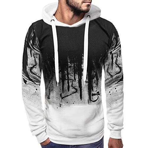 men 3d printed hoodies pattern