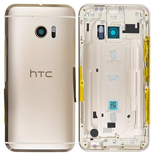 Unbekannt Original HTC Akkudeckel Gold für HTC 10 (Akkufachdeckel, Batterieabdeckung, Rückseite, Back-Cover)