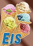 Plakat'EIS' - DINA1-100% wasserfest