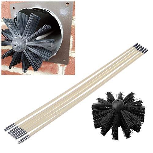 K/ühlung 7,6 m lang f/ür Heizung L/üftung und Abgase strapazierf/ähiger vierschichtiger Schutz AC Infinity Flexibler 10,2 cm Aluminiumkanal