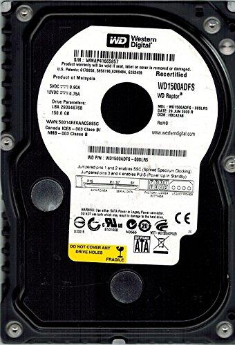Western Digital wd1500adfs-00slr5150GB Raptor DCM: hbca2ab