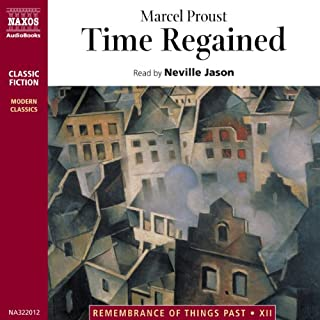 Time Regained audiobook cover art