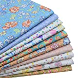 iNee Floral Bloom Fat Quarters Fabric Bundles, Quilting Sewing Precut Fabric, 18 x 22 inches