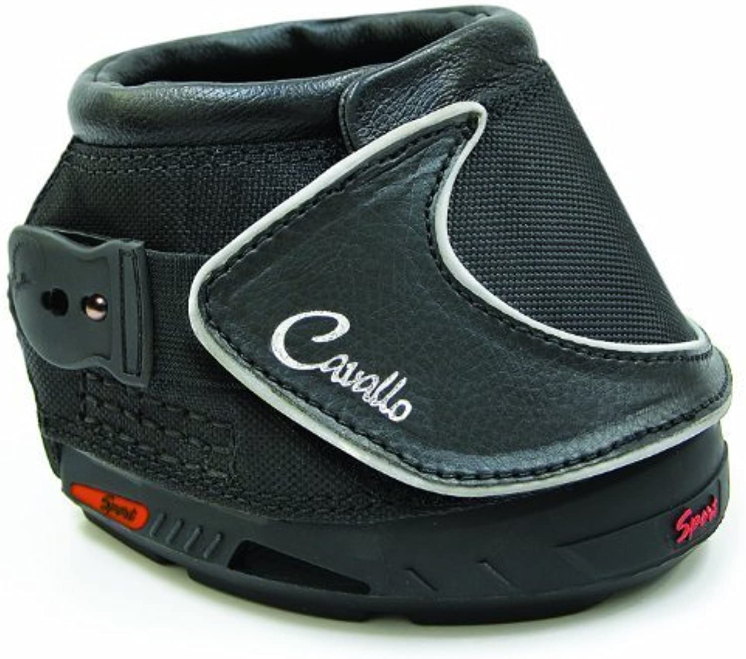 Cavallo Sport Hoof Boot for Horses, Size 4, Black by Cavallo Horse & Rider Inc