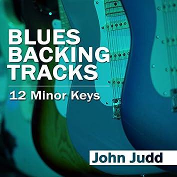 Blues Backing Tracks: 12 Minor Keys