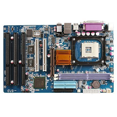SICOMPUTEK PRIME-845A6 Sockel 478 3 ISA 2 PCI AGP 2 DDR LTP VGA USB COM Micro ATX Industrial Motherboard mit Intel 845GL Chipsatz für Intel Pentium 4 Celeron Prozessor bis 2,8 GHz