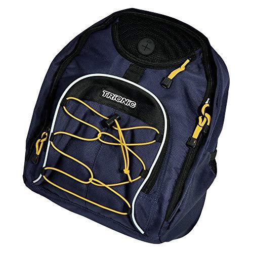 Trek Rucksack/Korbtasche marineblau/schwarz/gelb