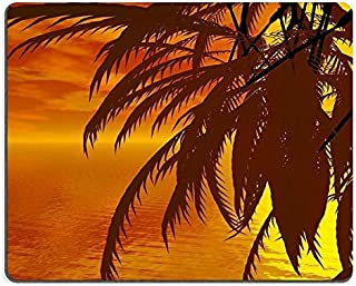 Mouse Pad Gaming Mouse pad Natural Rubber Mouse mat Wonderful Sunset Over The sea M0A02909