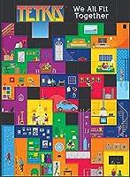DSJHK パズルパズル1000ピース面白いテトリス木製パズルジグソークリエイティブキッズ早期学習教育ゲーム家の装飾-私たちはみんな一緒にフィットします