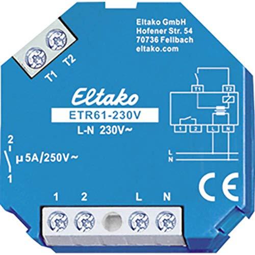 Eltako Trennrelais ETR61-230V 230V 1Schl.5A/250VAC Trennrelais Jalousie 4010312206690