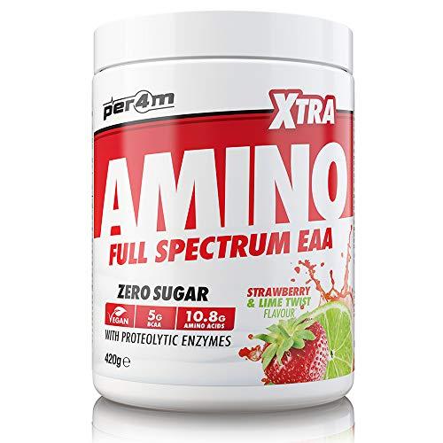 Per4M Amino Xtra Essential (Strawberry Lima, 420 g)