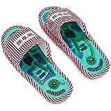 Pantoufles de Massage d'acupression thérapie magnétique Sandales de Massage Chaussures Masseur de Soins des Pieds sains pour Hommes Femmes favorisant la Circulation Sanguine
