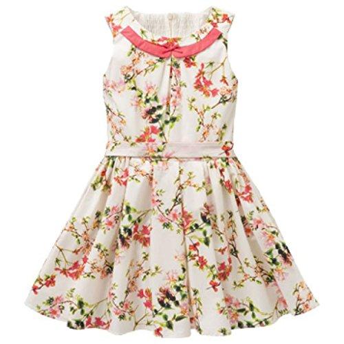 Jottum Kleid Sydney mit Blumenmuster weiß 152