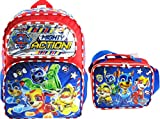 Paw Patrol Super Pups Deluxe Full Size 16 Inch Backpack with Insulated Lunch Tote