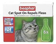Beaphar Cat Spot On 24 Week Flea Protection 6 x 0.8 ml