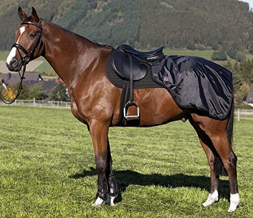 PFIFF 100249 Nierendecke Pferdedecke Fleecefutter, Full / Warmblut, 100249-60, schwarz