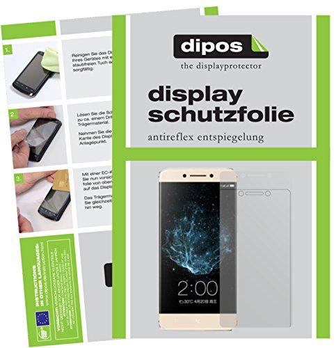dipos I 2X Schutzfolie matt kompatibel mit LeEco Le Pro 3 Elite Folie Bildschirmschutzfolie