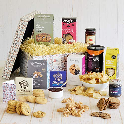 Artisan Gluten Free Food Hamper - Gourmet British Gift Basket for Coeliacs