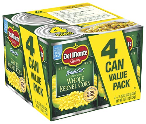 Del Monte Canned Fresh Cut Golden Sweet Whole Kernel Corn, 15.25 Ounce 4