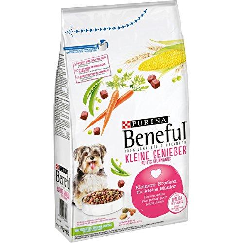 Purina Beneful Hundetrockenfutter Kleine Genießer (mit Rind und Gemüse) 6er Pack (6 x 1,4kg) Beutel
