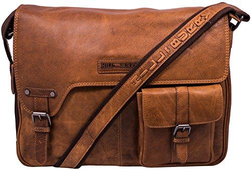 Hill Burry 3059-2 Aktentasche Vintage, Braun