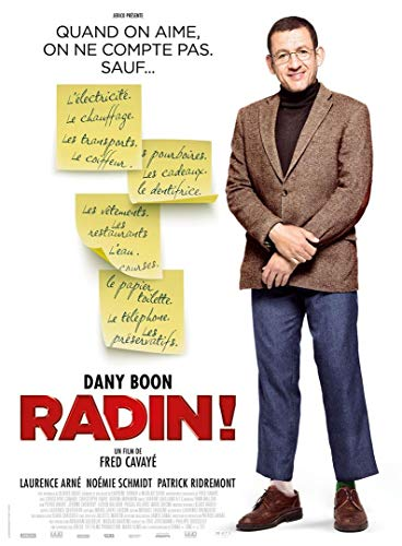 Cinema RADIN! - 2016 - Dany Boon, Laurence Arné - 116x156cm - Affiche Originale