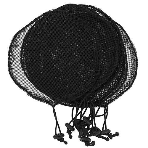 Lurrose 8pcs Wig Caps Elastic Hair Mesh Net Stretchy Caps Liner Weaving Cap for Wigs Fishnet Wig Cap Stretchy Adjustable Wig Hats
