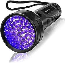 UV Flashlight Black Light , Vansky 51 LED Blacklight Pet Urine Detector for Dog/Cat Urine,Dry Stains,Bed Bug, Matching with Pet Odor Eliminator
