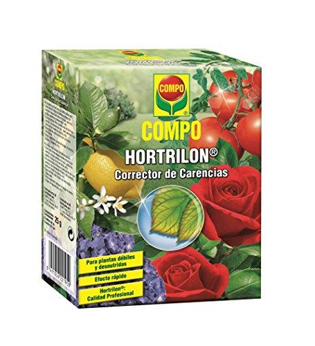 Compo Hortrilon Corrector de carencias, para Plantas débiles y desnutridas, Efecto rápido, Interior y terraza, 25 g, 2219502011