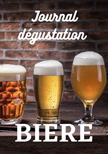 Journal dégustation bière: + 100 fiches à remplir pour vos dégustations de bière - cadeau anniversaire ou noël pour amateur de bière
