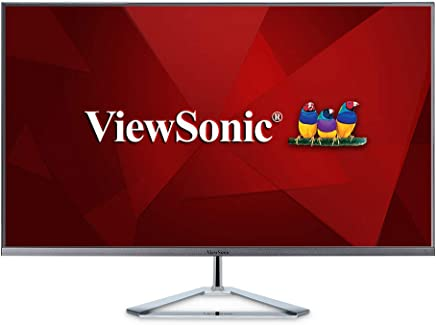 """ViewSonic 32"""" 1080p Frameless IPS Monitor with Screen Split Capability HDMI and DisplayPort (VX3276-MHD)"""