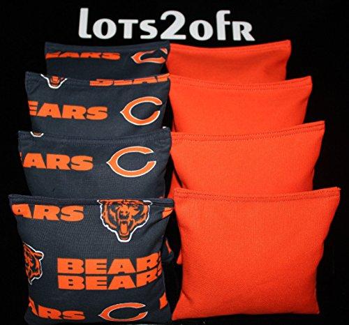 chicago bears corn hole bags - 5