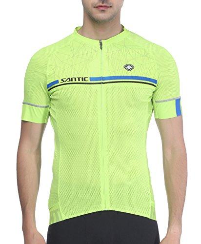 Santic Maillot Ciclismo Hombre Maillot Bicicleta Hombre