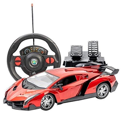 YYQIANG Uno y Doce Grande Súper RC Drift Car Realista de conducción del Coche de RC Juguete de la manía eléctrica Carreras de Autos Deportivos de dirección Sensor de la Graved