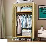 Closet Storage Closet Clothes Portable Armario portátil Freestanding Closet Shelf Almacenamiento Organizador Armario con Rack Colgando Ropa Closet Wardrobe Closet Organizer Shelf Wardrobe
