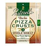 Pastorelli Whole Wheat Pizza Crust– Ultra Thin Pizza Crust – 12 inch Pizza Crust – Thin and Crispy Pizza Crust – Pack of 10, 3 count Pizza Crust (Total 30 Thin Pizza Crusts)