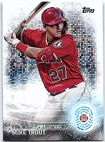 2020 Topps 2030#T2030-1 Mike Trout Los Angeles Angels MLB Baseball Trading Card