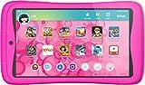 Kurio Tab Connect Toggo - Bandeja infantil rosa - Nickelodeon Toggo - Memoria de 16 GB - Sistema de filtro web - Resistente a salpicaduras - Parachoques - Pantalla de 7'