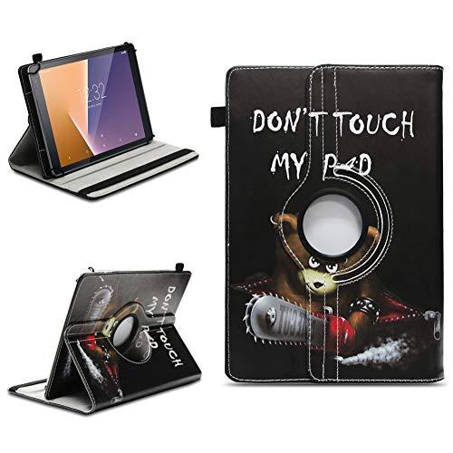 na-commerce Tablet Schutzhülle Vodafone Tab Prime 6/7 360° drehbar Tasche Cover Hülle Etui, Farben:Motiv 9