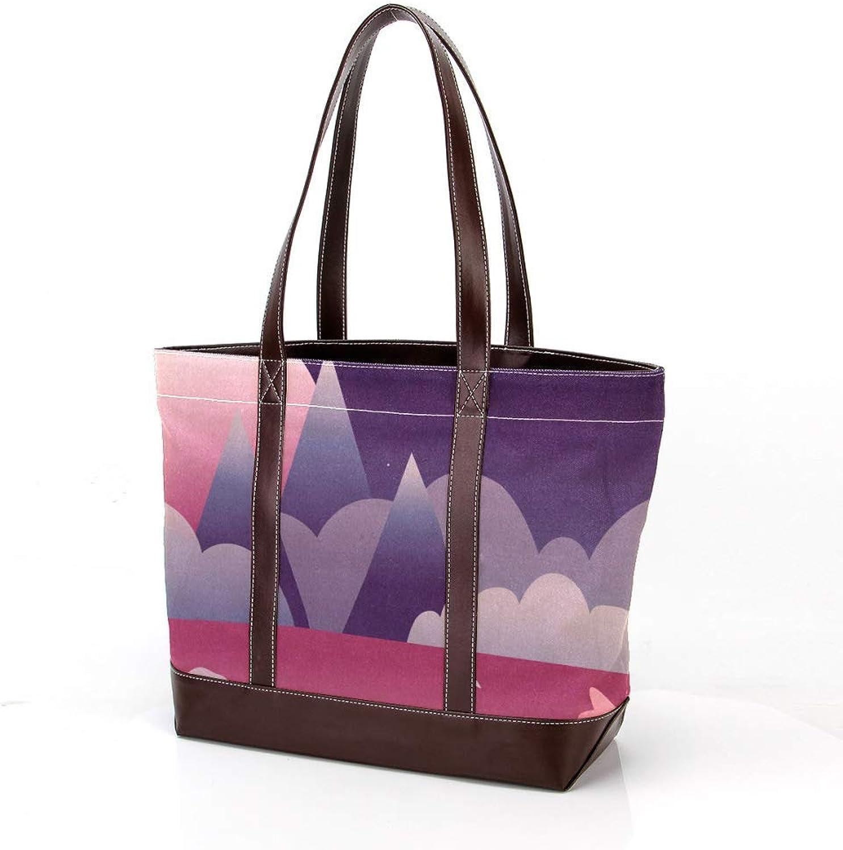 Yuzheng , Damen Damen Damen Tote-Tasche Mehrfarbig Mehrfarbig B07PY7K68N  Kaufen d6f18a