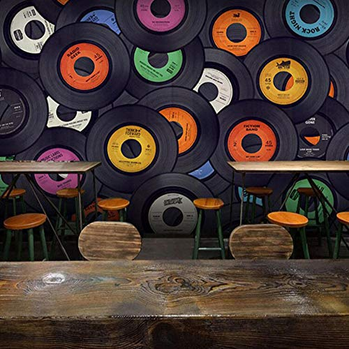Fotobehang - fotobehang - fotobehang - woonkamer wand - band muziek - wand decoratie 400 x 280 cm