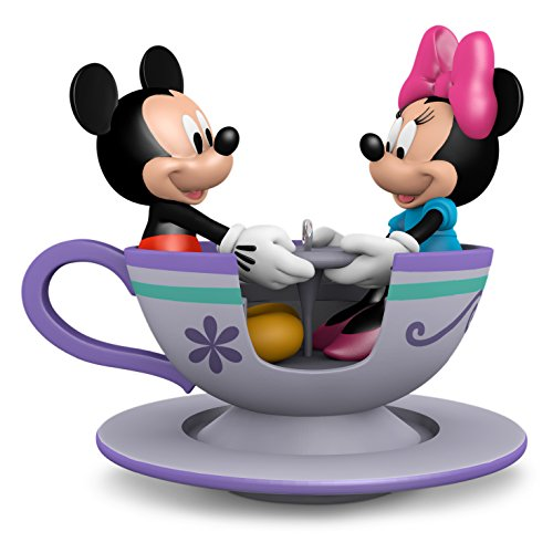 Hallmark Teacup for Two Mickey and Minnie Mouse Ornament