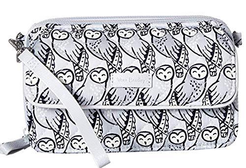 Vera Bradley Iconic RFID All-In-One Crossbody Owls Gray One Size