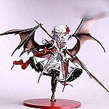Nuevo Proyecto Remilia Scarlet Touhou, Figuras De Anime JaponéS Regalo De CumpleañOs De Pvc Modelo Estatua Juguete Regalo 25cm