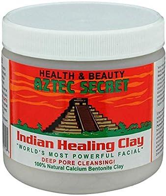 AZTEC SECRET Indian Healing Clay Deep Pore Cleansing 100% Natural Volcano Calcium Bentonite Clay from