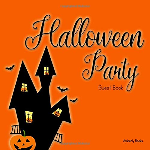 Halloween Party Guest Book
