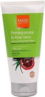 VLCC Pomegranate & Aloe Vera Gentle Exfoliating Scrub 150 mlwhite, Pack of 1