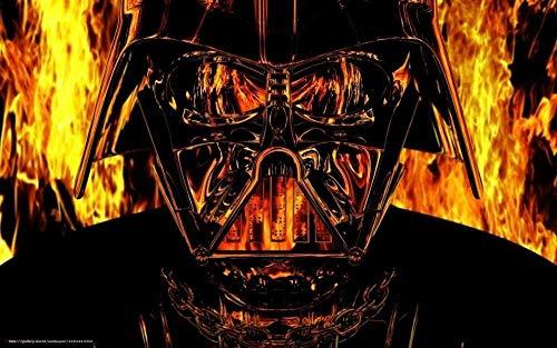 OKJK Casco Darth Vader Mini Rompecabezas para Adultos 1000 Piezas para niños Año Rompecabezas Casual Clásico Moderno Decoración del hogar 38x26cm